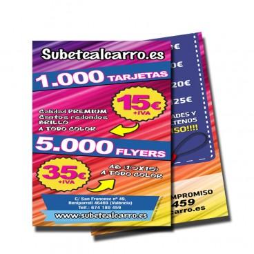 Impresión de Flyers 5000 Unidades
